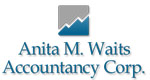 Anita M. Waits Accountancy Corp. Logo